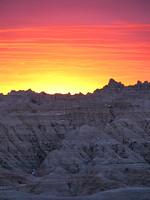 Sunset #9 - Badlands, SD