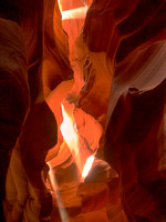 Antelope Canyon - Shafts Of Light II
