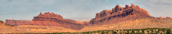 Black Dragon Canyon Pano